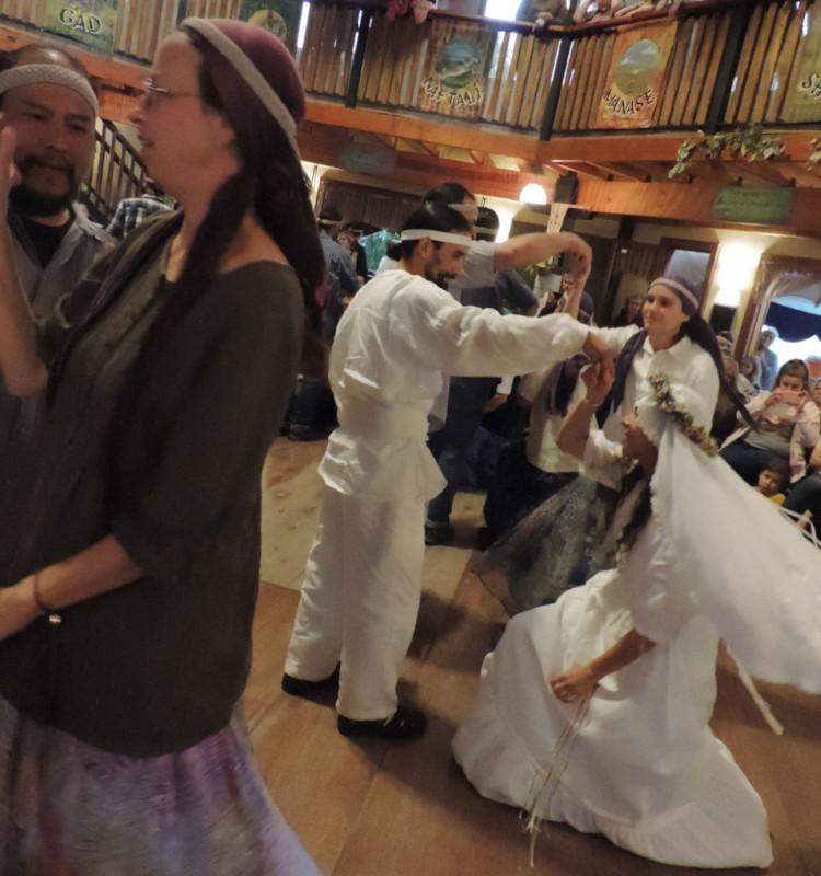 La danza de las parejas