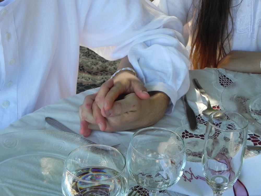 Cordon de 3 dobleces no se rompe (El, ella y Dios)