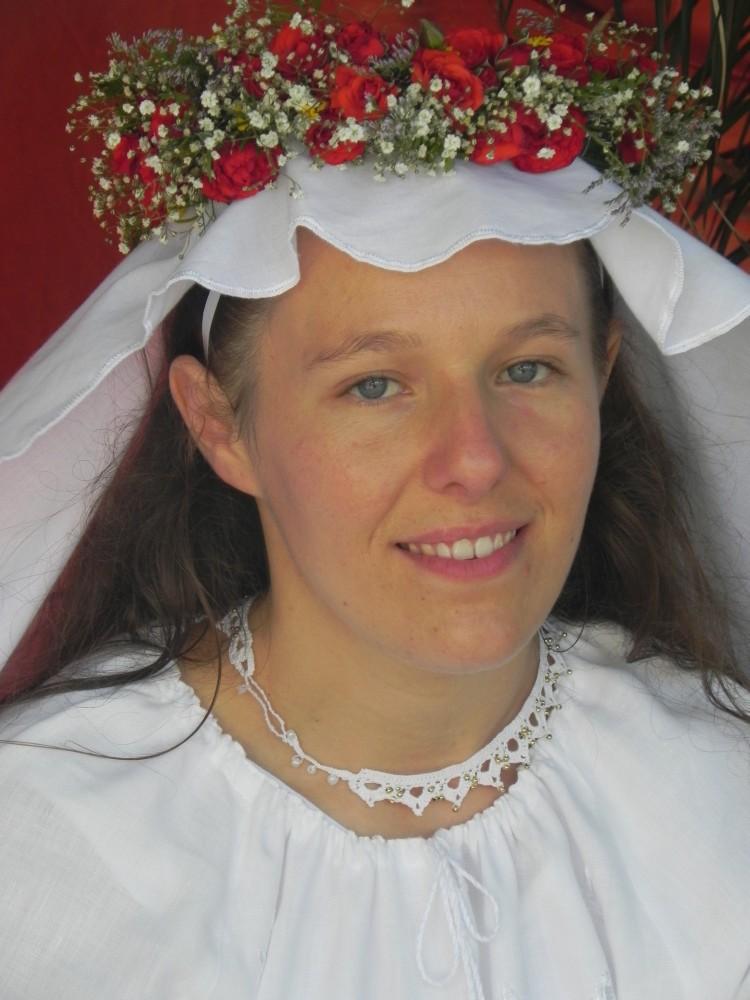 La novia radiante y preparada
